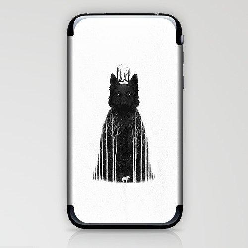 The Wolf King iPhone & iPod Skin