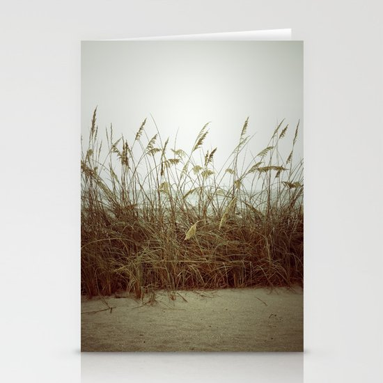 Beach Wheat Grass Stationery Card