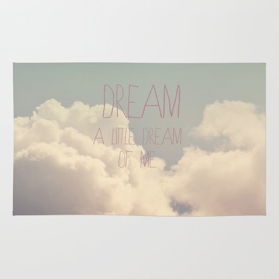 Dream A Little  Area & Throw Rug