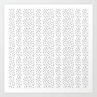 Random Polka ///www.penc… Art Print