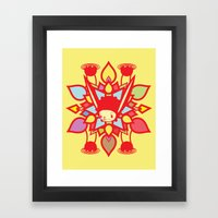 LOTUS HOLIC Framed Art Print