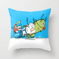You Cannot Escape Love. Throw Pillow