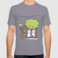 When I'm With You... Mens Fitted Tee Slate SMALL