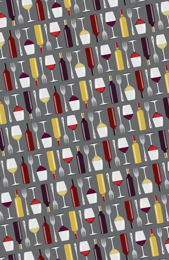 Food & Wine Art Print