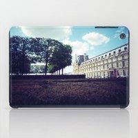 Louvre Gardens I iPad Case