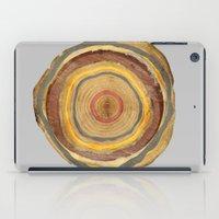 Tree Rings iPad Case