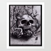 Faint Expression of the Unremembered Art Print