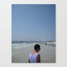 Man in the Middle Canvas Print