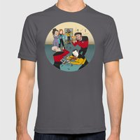 Star Trek Jam Band Mens Fitted Tee Asphalt SMALL