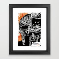 MF Doom Framed Art Print