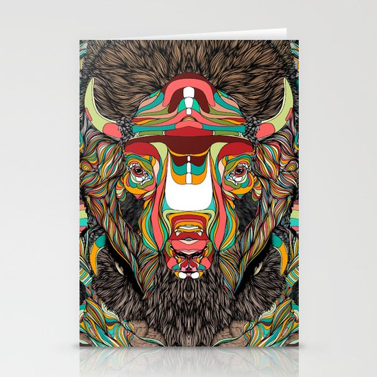 Bison (Feat. Bryan Gallardo) Stationery Card
