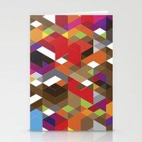Life Like A Geometry Stationery Cards