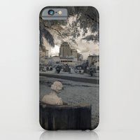 iPhone & iPod Case featuring Waiting in West Palm Beach by Cemetery Prints Inc.