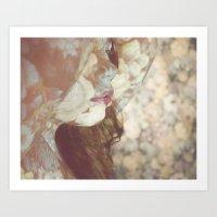 Flower Skin Art Print