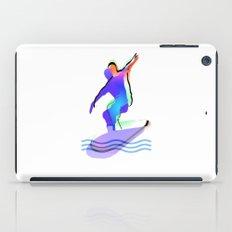 Blue  Surfer iPad Case