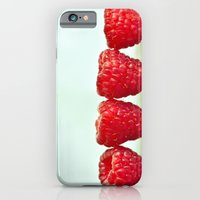iPhone & iPod Case featuring Raspberries by Loaded Light Photography