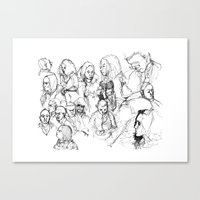 Transit People Canvas Print