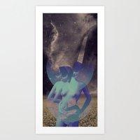 STELLAR WOMAN 002 Art Print