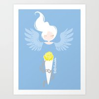 Endometriosis & Depression Art Print