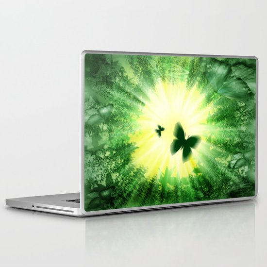 "The sun and the ""Butterfly - Effect""! Laptop & iPad Skin"