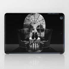Room Skull B&W iPad Case