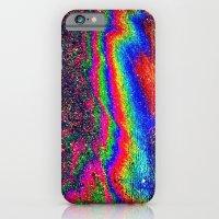 Oily rainbow floor iPhone 6 Slim Case
