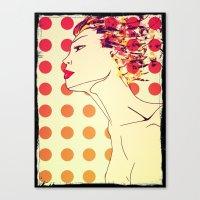 Lickstip Canvas Print