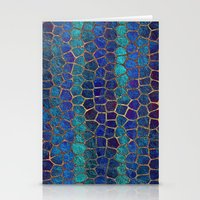 Geometric Mosaic Stationery Cards