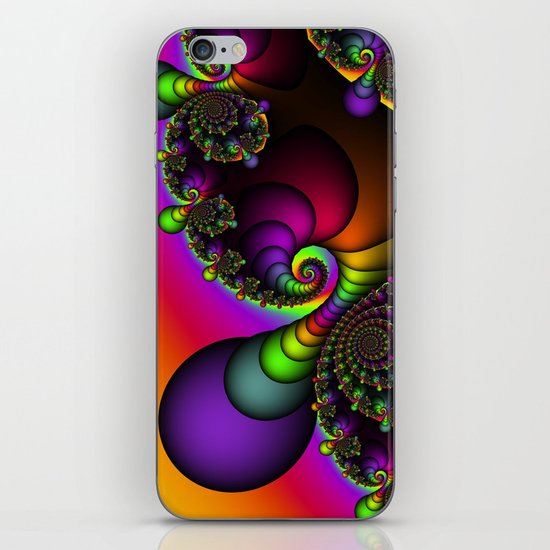 Rainbow Goddess iPhone & iPod Skin