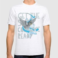 Get The Swan Costume Rea… Mens Fitted Tee Ash Grey SMALL