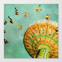 You Spin Me Right Round … Canvas Print