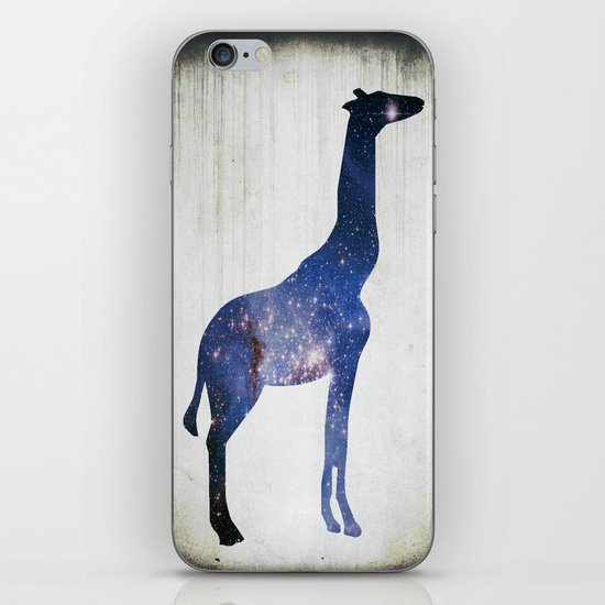 Sky-Giraffe  iPhone & iPod Skin