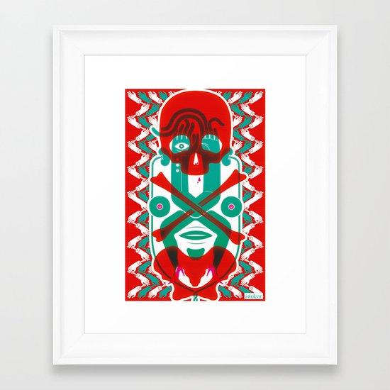 The Body Framed Art Print