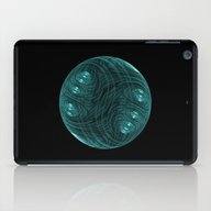 3D Fractal Bubble iPad Case