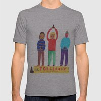 Toblerone. Mens Fitted Tee Athletic Grey SMALL
