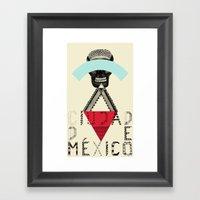 Locals Only - Ciudad De … Framed Art Print