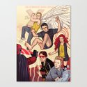 Tribute to X-Men #1 Canvas Print