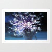 Constellation, Allium Li… Art Print