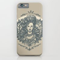 iPhone & iPod Case featuring Long Live the Queen by empressfunk