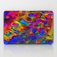 Chromatic Convections iPad Case