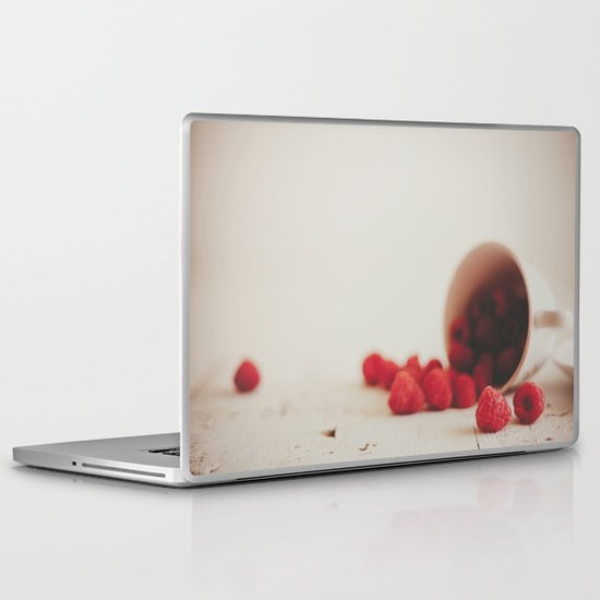 Red is the color of passion Laptop & iPad Skin