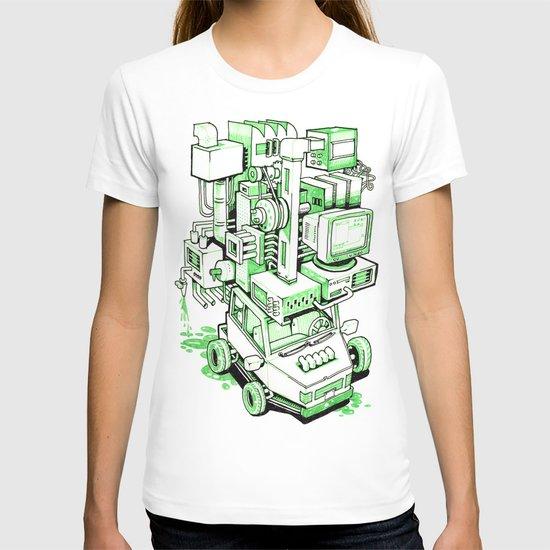 Green Machine Car T-shirt
