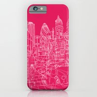 London! Hot Pink iPhone 6 Slim Case