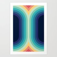 Retro Smooth 001 Art Print
