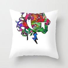 G gama Throw Pillow