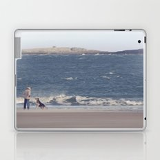 fishing with dogs... Laptop & iPad Skin