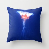 Jelly Bloom. Throw Pillow