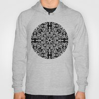 Black & White Folk Art P… Hoody
