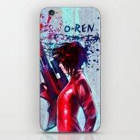 O-Ren Ishii iPhone & iPod Skin