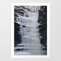 Frozen Art Print